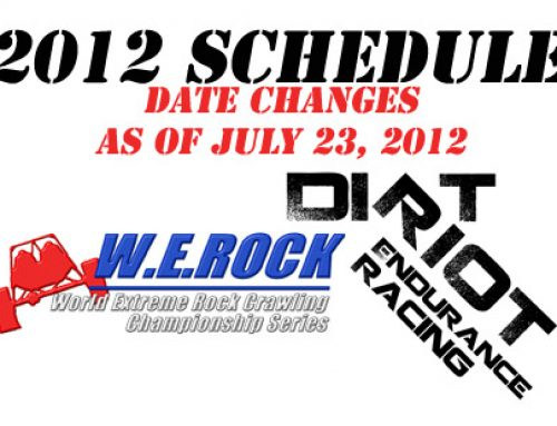 2012 Event Schedule