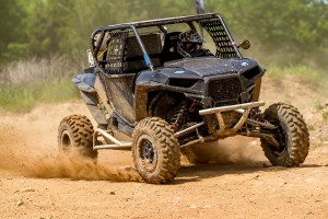 The growing W.E. Rock Pro UTV division used a unique combination of Crandon's race courses to put on a great display for the fans. This Polaris RZR 1000 driven by Brian Strane of Kenosha, Wisconsin, beat Blake Knabe who came all the way from Gainesville, Texas. (Chris Hord image)