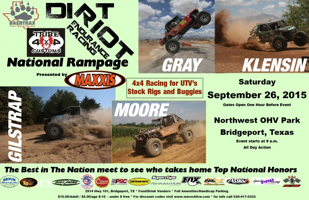 Rampage 2015 dirt riot