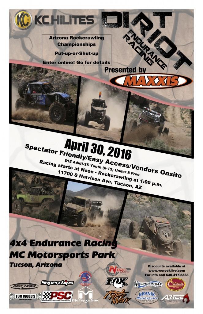 Tucson Dirt Riot 2016